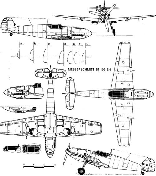 Messerschmitt Bf 109E-4 'Emil'