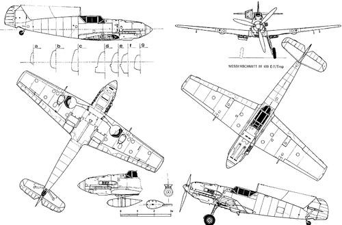 Messerschmitt Bf 109E-7 'Emil' Trop