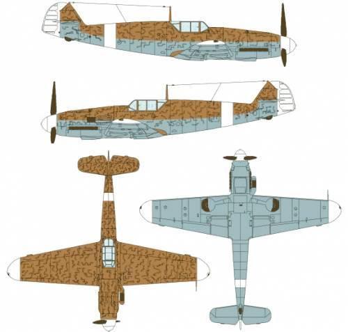 Messerschmitt Bf 109F-1