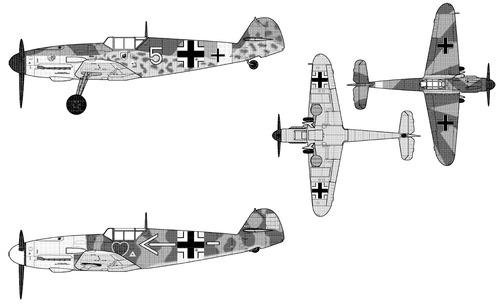 Messerschmitt Bf 109F-2 Friedrich