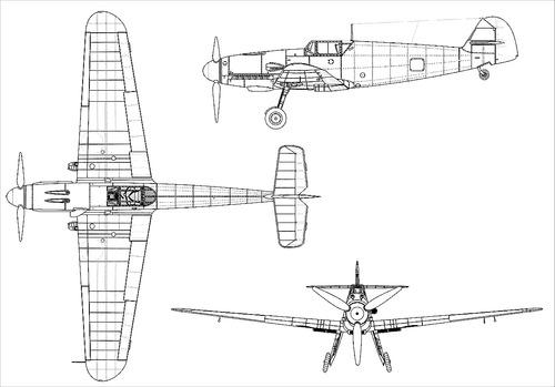 Messerschmitt Bf 109F-2 'Friedrich'