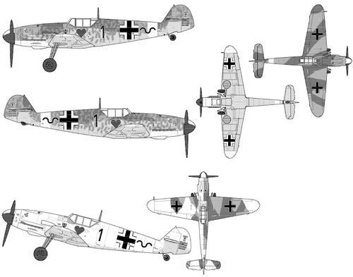 Messerschmitt Bf 109F-4 Friedrich