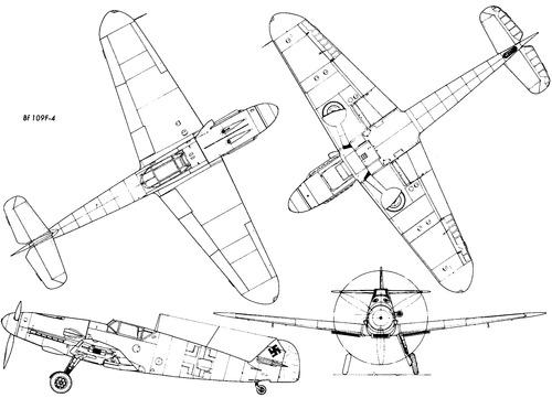 Messerschmitt Bf 109F-4 'Friedrich'