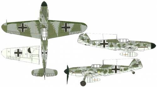 Messerschmitt Bf 109F-4-R3