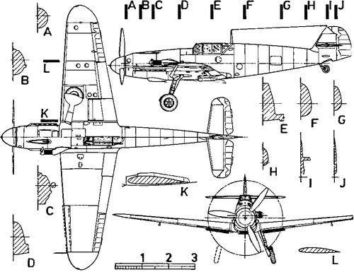 Messerschmitt Bf 109F 'Friedrich'
