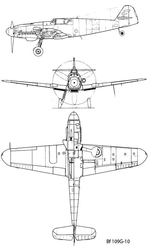 Messerschmitt Bf 109G-10 'Gustav'