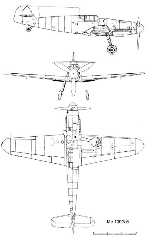Messerschmitt Bf 109G-6 'Gustav'