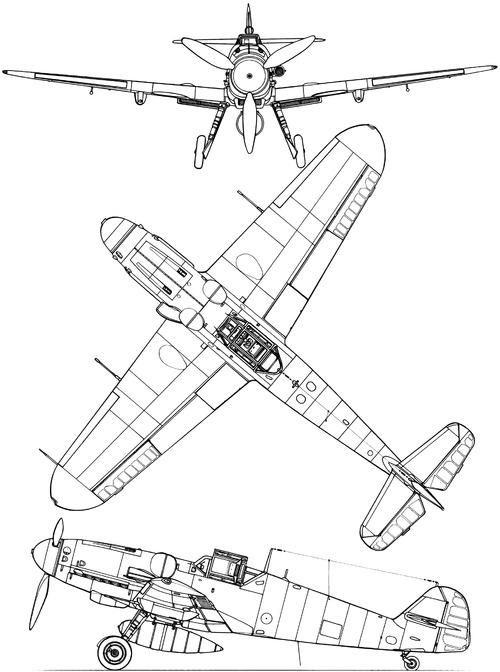 Messerschmitt Bf 109G-6-R6 'Gustav'