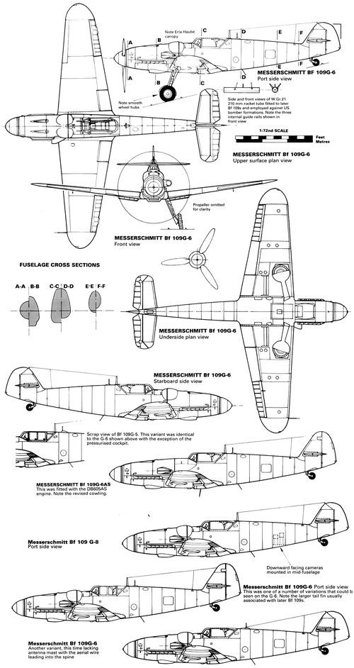 Messerschmitt Bf 109G 'Gustav'