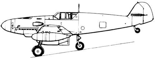 Messerschmitt Bf 109G-R2 'Gustav'