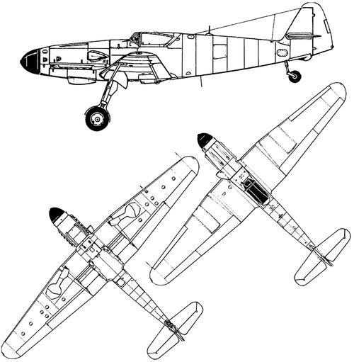 Messerschmitt Bf 109H-1