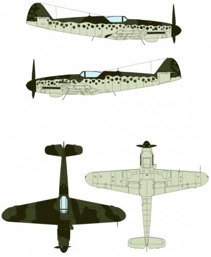 Messerschmitt Bf 109K-4