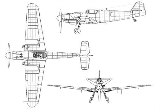 Messerschmitt Bf 109K-4 'Karl'