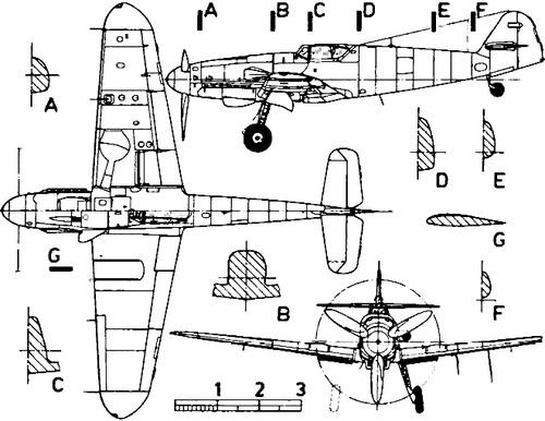 Messerschmitt Bf 109K 'Karl'