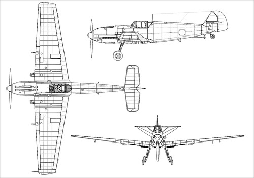Messerschmitt Bf 109T-1 'Toni'