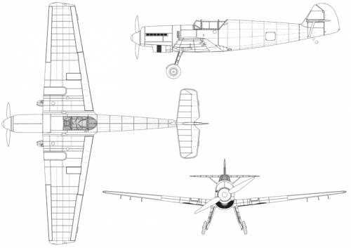 Messerschmitt Bf 109V1