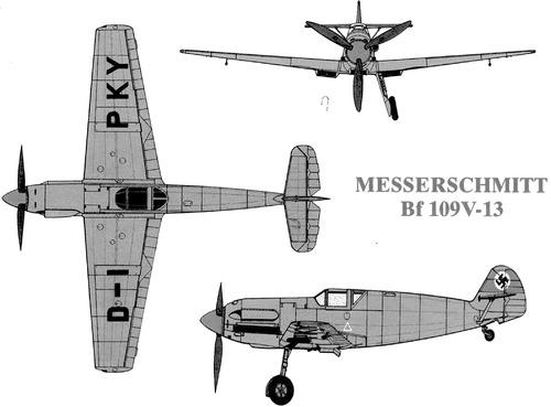 Messerschmitt Bf 109V-13