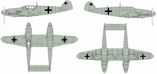 Messerschmitt Bf 109Z