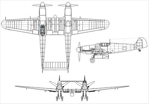 Messerschmitt Bf 109Z-1