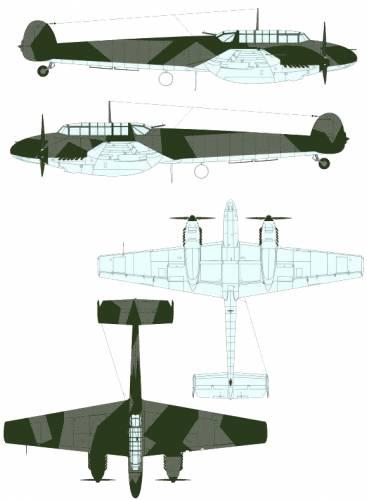 Messerschmitt Bf 110 C-3