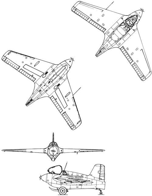 Messerschmitt Me 163B-1 Komet