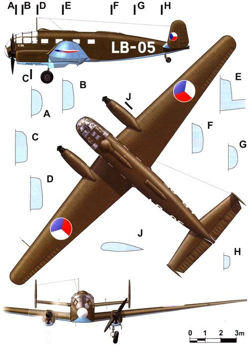 Aero C-3A (Siebel Si 204)