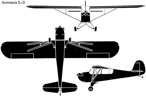 Aeronca L-3 Grasshopper O-58