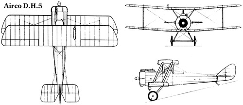 Airco de Havilland DH.5