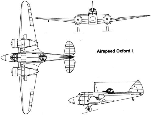 Airspeed AS.10 Oxford Mk.I
