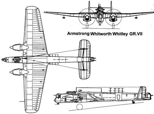 Armstrong-Whitworth AW.38 Whitley GR.III