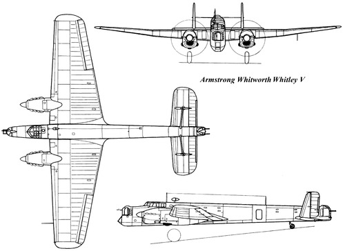 Armstrong-Whitworth AW.38 Whitley Mk.V