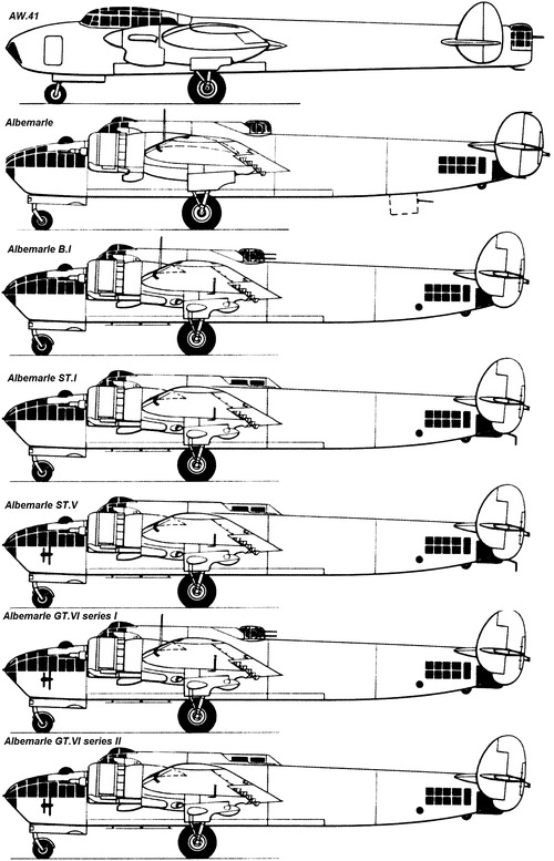 Armstrong-Whitworth AW.41 Albemarle