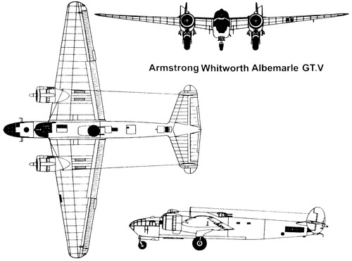 Armstrong-Whitworth AW.41 Albemarle GT.V