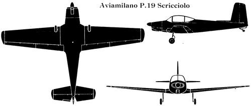 Aviamilano P.19 Scricciolo