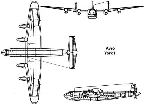 Avro 685 York C.1