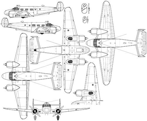 Beechcraft 18 C-45 Expeditor