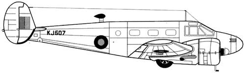 Beechcraft 18 C-45 Expeditor II