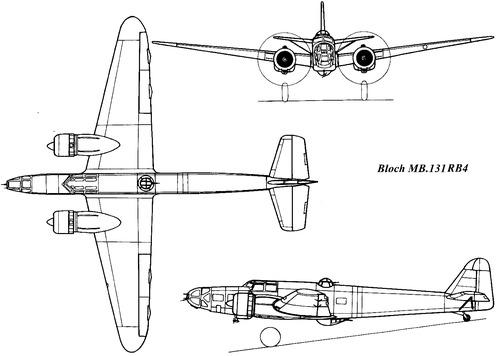 Bloch MB.131 RB4