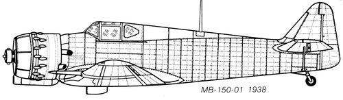 Bloch MB.150-01
