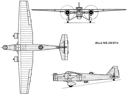 Bloch MB.200 BN4