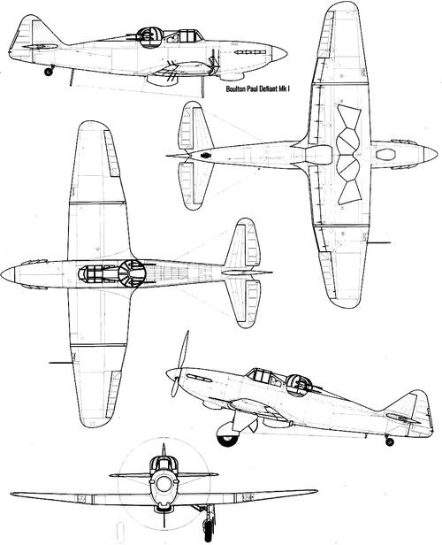 Boulton-Paul P.82 Defiant Mk.I
