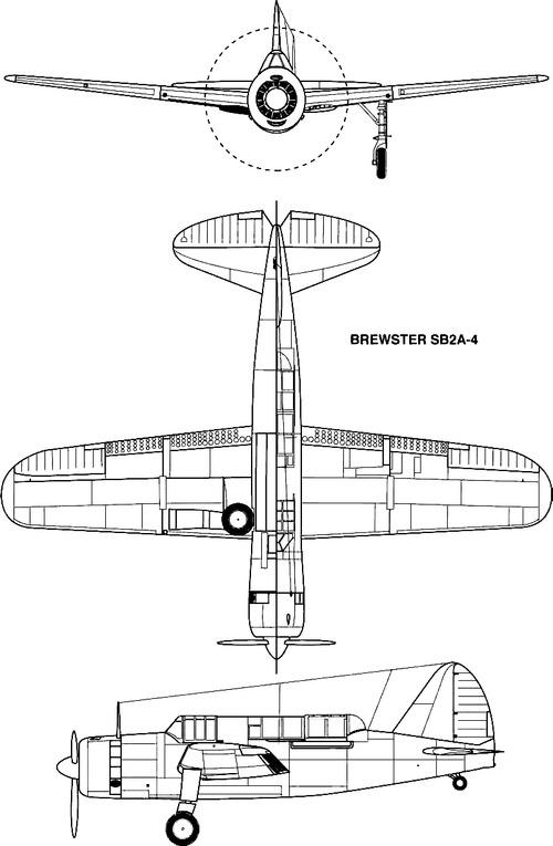 Brewster SB2A-4 Buccaneer