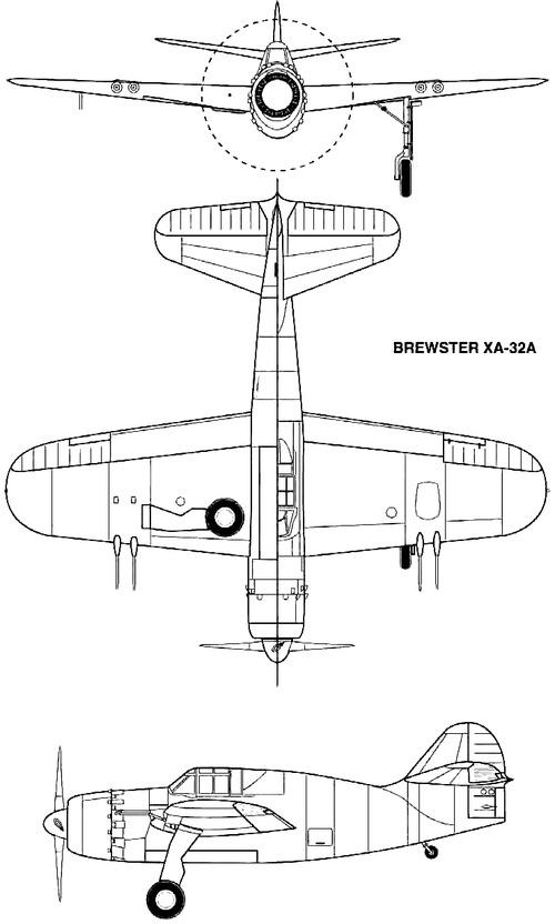 Brewster XA-32A (1943)