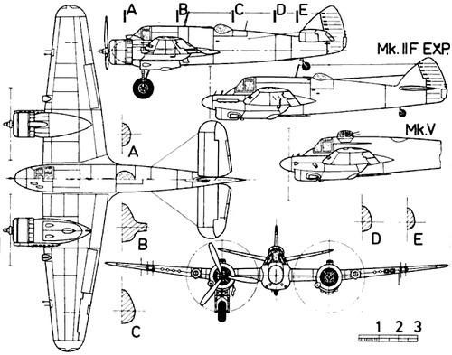 Bristol 156 Beaufighter Mk.IIF