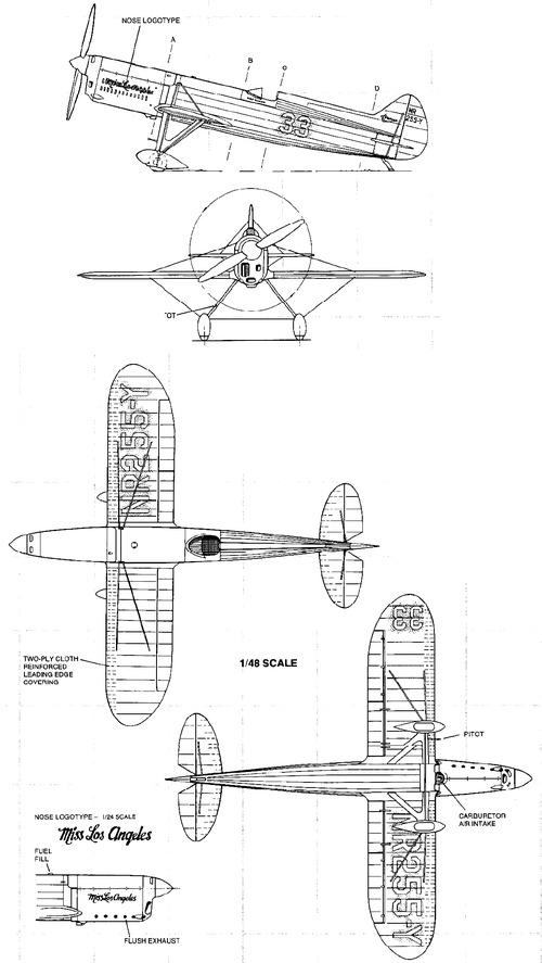 Brown B-2 Racer ''Miss Los Angeles''