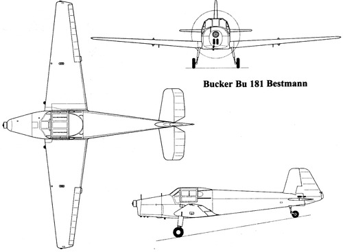 Bucker Bu 181 Bestman
