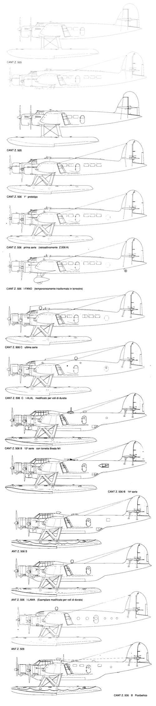 CANT Z.506 Airone