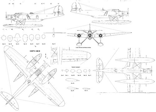 Cant Z.506B Airone