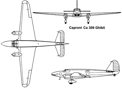 Caproni Ca.309 Ghibli