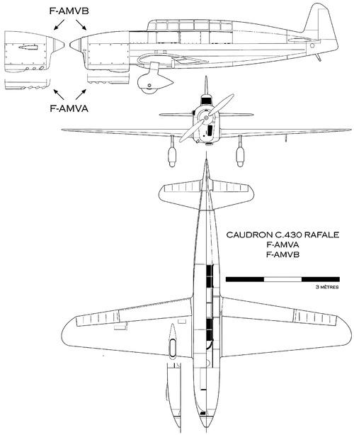 Caudron C.430 Rafale